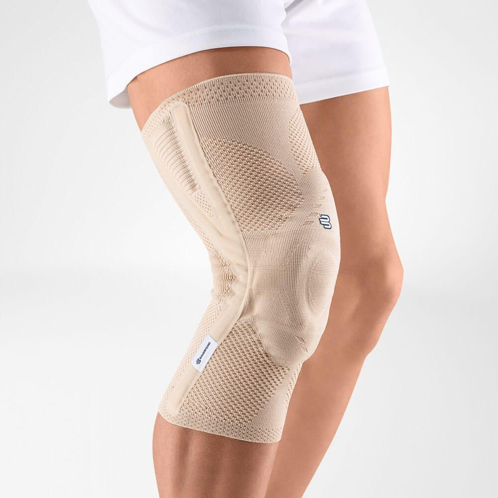 Beige colour knee brace